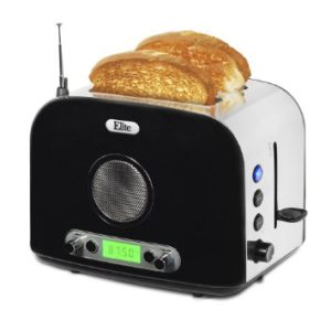 A toaster radio, no this is real.