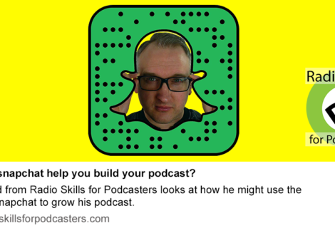 How can Snapchat help grow your podcast?